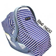 Car Seat Cover for Infant Car Seat- First Mate (Universal) by BohoCheeks on Etsy