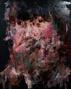 Saatchi Online Artist: KwangHo Shin; Oil, 2013, Painting [20] untitled oil & acrylic on canvas 162 x 130 2013