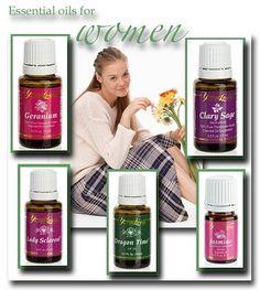 Oils for Women and menstrual discomfort.