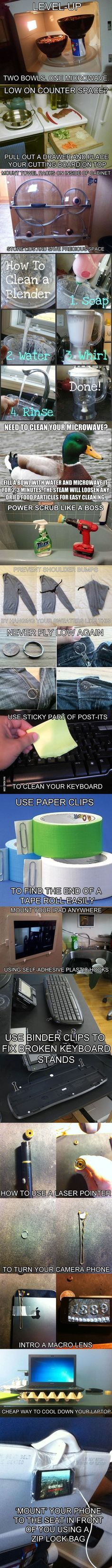 Clever Life Hacks to Simplify Your World: