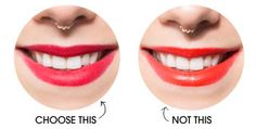 Which Lipstick Shades Make Teeth Look Whiter - Lipstick Colors For Whiter Teeth