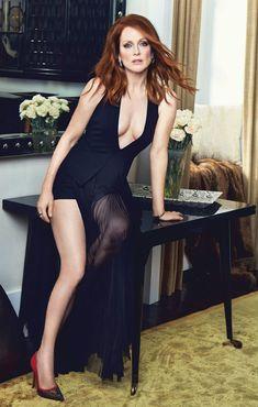 Julianne Moore #HotCelebs #Sexiest100 #UKvUShhfinal #Top50GingeRedHeads #Top50MILFCougars
