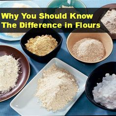 My Thirty Spot: Why You Should Know the Differences in Flours