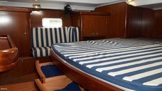 Ample Storage for a crew of 2, 4 or up to 6 people in this Owner Version Sailboat Beneteau Oceanis 42 ft Yacht | Flickr - Photo Sharing!