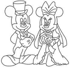 mickey mini bruidspaar