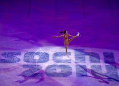 Mao Asada of Japan perform during the figure skating gala exhibition at Iceberg Skating Palace during the Sochi 2014 Olympic Games, Sochi, Russia, 22 February 2014. EPA/BARBARA WALTON (4096×2978)