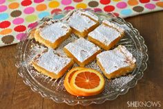 Gluten-free Goodie of the Week: Amazing orange bars