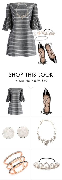 """""""Evangeline's outfit #1"""" by audreyjensenx ❤ liked on Polyvore featuring Chicwish, Kate Spade, Chanel, Oscar de la Renta, EF Collection and Miu Miu"""