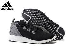 0b0b2860ddb0 Men s Adidas Originals ZX Flux X Pure Boost Running Shoes Black Grey