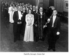 Radcliffe, Borough, Charter Ball  I think it was in 1935