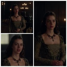 Mary's Green and Black Dress 4x07: Hanging Swords
