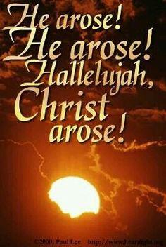 Christ Arose❤