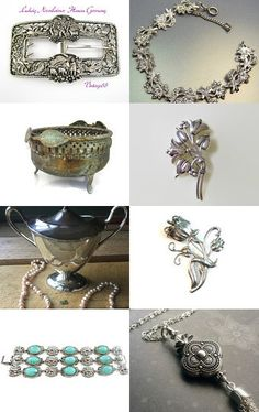 Gorgeous Silver by Donna Harding on Etsy--Pinned with TreasuryPin.com