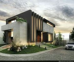 Ideas for modern house design 2019 - EveSteps - architecture this morning . - Ideas for modern house design 2019 – EveSteps – architecture this morning yesterday – - Architecture Renovation, Modern Architecture House, Facade Architecture, Residential Architecture, Architecture Wallpaper, Chinese Architecture, Victorian Architecture, Futuristic Architecture, Landscape Architecture