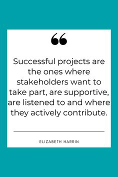 Click the pin to find out why you need to engage stakeholders as a project manager - and how to do it... #stakeholder #stakeholders #project #projectmanagement #projectmanager Stakeholder Management, Engagement Tips, Project Management, How To Find Out, Projects, Log Projects, Blue Prints