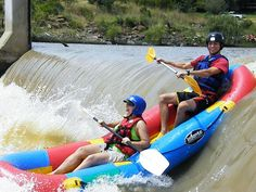 Shooting a weir - Upper Vaal