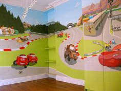 I think my boy would love to have his bedroom in Radiator Springs