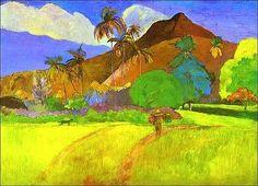 Flickr Tahitian Landscape by Paul Gauguin