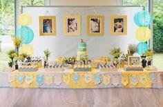 [Chá de bebê] - Amarelo e Azul