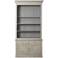 Grand French Country Bookcase | From a unique collection of antique and modern bookcases at https://www.1stdibs.com/furniture/storage-case-pieces/bookcases/