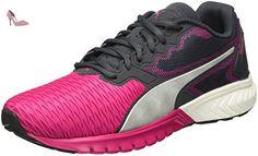 Puma Wns Powertrainer Clash, Chaussures de sports en salle femme, Rose (02 Virtual Pink), 37.5