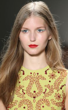 Jenny Packham from Makeup & Manicures at New York Fashion Week Spring 2016  Makeup by Laura Mercier