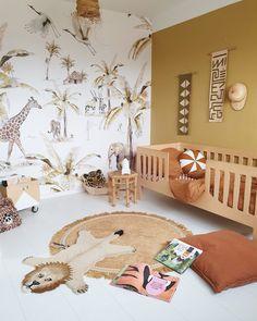 Safari Kids Rooms, Safari Room, Jungle Baby Room, Safari Nursery, Toddler Rooms, Baby Boy Rooms, Baby Room Design, Baby Room Decor, Baby Room Neutral