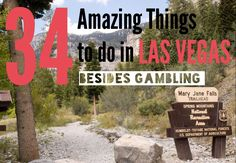 34 things to do in Vegas without gambling. Vegas is actually a very cool town outside of The Strip. Las Vegas Vacation, Vegas Fun, Moving To Las Vegas, Nevada, Stuff To Do, Things To Do, Free Things, Las Vegas Attractions, Journey