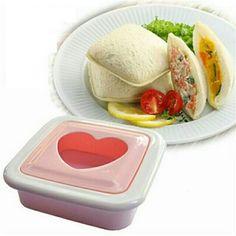 Saya menjual Sandwich Toaster Heart Shaped Mold / Cetakan Kue Hati - White seharga Rp40.500. Dapatkan produk ini hanya di Shopee! {{product_link}} #ShopeeID