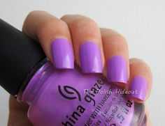 China Glaze ~ That's Shore Bright | Source: The Polish Hideout