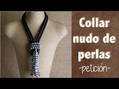 Collar de cordón paracord o de paracaidista. Con 5 tiras de perlas. Es necesario 2 metros de cordón. ------------------------------------------- BLOG: scrapa...
