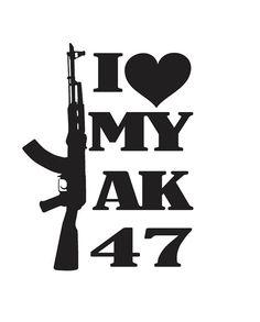 Zombie Bumper Sticker Zombie DEFENSE TEAM AK-47 Vinyl Sticker Ak-47 Decal