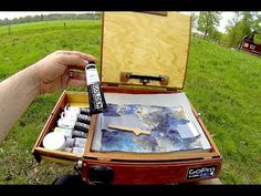 Outdoor Painting Gear & Acrylic Plein air Painting Tips -  In this video I show you my #outdoor #painting set up, gear and some tips. Don't miss any #acrylic #paintinglessons and tips. Sign up here: http://eepurl.com/J2C4X