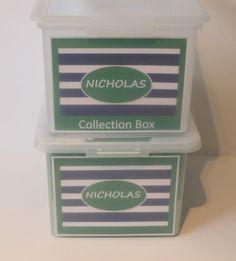 School Paper Organizer  School Memory Box by SchoolMemoryBoxShop