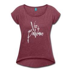 T-shirt vie de bohême