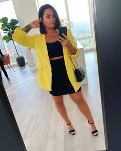 demi lovato outfits 50 best outfits Page 14 of 101 Celebrity Style and Fashion Trends Classy Outfits, Cool Outfits, Curvy Outfits, Demi Lovato Style, Concert Fashion, Lauren London, Christina Milian, Female Girl, Nicole Scherzinger