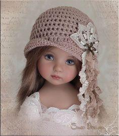 Sand Dollar Hat for Effner Little Darling Mini FE Ellowyne Prudence BJD by Linda | eBay