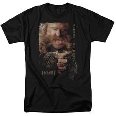 The Hobbit/Bombur Short Sleeve Adult T-Shirt 18/1 in