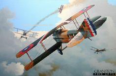 world war 1 aircraft art - Google Search