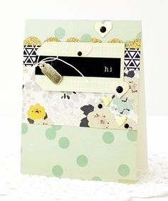 """Good morning, friends! One of my favorite things about the Gossamer Blue kits is receiving the printables and cut files every month. As both a scrapbooker and a cardmaker, both """"extras"""" are welcome..."""