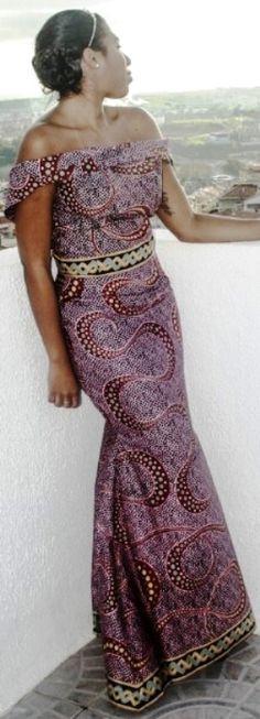 Trendy African fashion. #Ankara #african fashion #Africa #Clothing