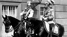The arguments over who started World War One have raged since the first shots were fired. Shown: Royal Cousins Kaiser Wilhelm II and King George V History Teachers, Teaching History, World History, Teaching Tools, World War One, Second World, First World, Bbc News, Caves