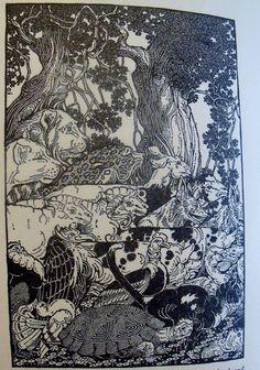 Squiffer Dugald Stewart Walker illustrations Hal by wonderdiva