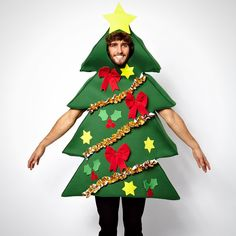 Okay, this Christmas Tree Onesie is amazing.