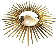 This is a really nice period sunburst wall mirror which will make a great addition to your decor. Unless stated otherwise. Starburst Mirror, Oval Mirror, Wood Mirror, Danish Modern, Midcentury Modern, Mid Century Style, Hollywood Regency, French Vintage, Things To Sell