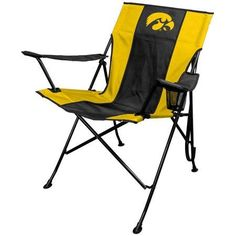 Ncaa Iowa Hawkeyes Tailgate Chair by Rawlings, Multicolor