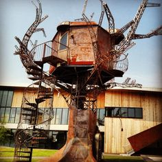 steampunk tree houses | Dogfish Head Brewery – Milton, DE | eat a duck | purveyors of ...