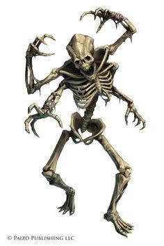 Pathfinder: Kasatha Skeleton by WillOBrien.deviantart.com on @DeviantArt