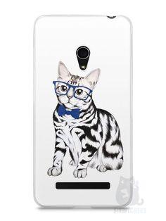 Capa Zenfone 5 Gato Estiloso - SmartCases - Acessórios para celulares e tablets :)