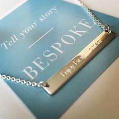 ENJOY EVERY MOMENT ! Mon collier est arrivé  Boutique UNIQUE de Stella and Dot Les Bijoux gravables Sont disponibles à la vente Bracelet Jonc collier format plaque ou médaille bague le tout en argent sterling ou or  Choisissez ce que vous avez envie d'y graver (nom initiales citations) tout est possible!! Dispo sur mon eshop: http://ift.tt/1P5gAbZ  http://ift.tt/1lmkJx3  #stelladot#stelladotfr #stellaanddot #stelladotstyle#bijou #accessoire #collier#bracelets#instagood #instasmile #instamode…